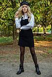 Сарафан женский 153R1072 цвет Черный, фото 6