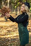 Сарафан женский 153R1071 цвет Темно-зеленый, фото 8