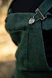 Сарафан женский 153R1071 цвет Темно-зеленый, фото 7