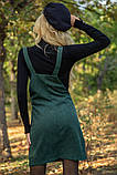 Сарафан женский 153R1071 цвет Темно-зеленый, фото 6
