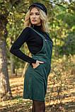 Сарафан женский 153R1071 цвет Темно-зеленый, фото 5