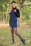 Сарафан 153R1070 цвет Темно-синий, фото 4