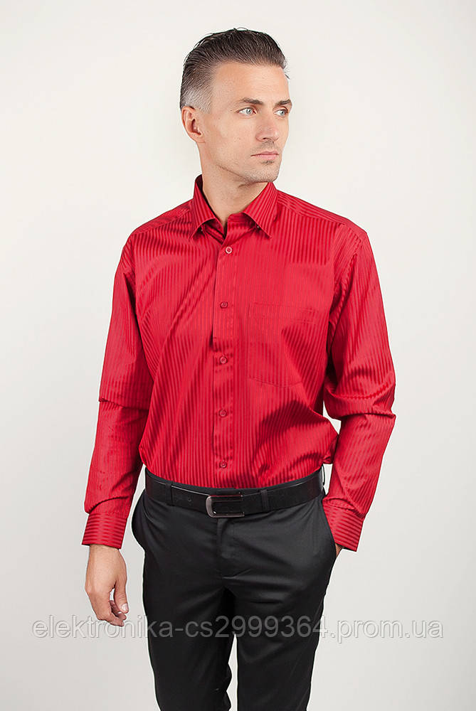 Рубашка Fra №878-63 цвет Красный