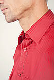 Рубашка Fra №878-63 цвет Красный, фото 2