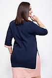 Платье 150R631 цвет Темно-синий, фото 3