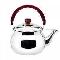 Чайник музичний нержавіючий V 3000 мл (шт) Імперія Посуду EMP_1466
