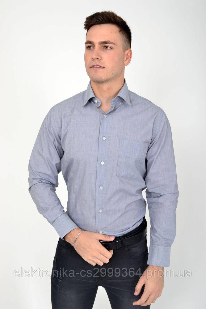 Рубашка 9021-27 цвет Серый