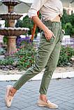 Брюки женские 149R9311-6 цвет Хаки, фото 6