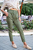 Брюки женские 149R9311-6 цвет Хаки, фото 8