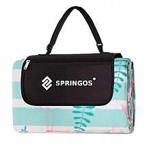 Коврик для пикника и кемпинга складной Springos 200 x 200 см PM016, фото 2