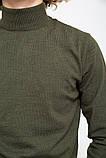 Гольф мужской 117R005(5001) цвет Хаки, фото 5