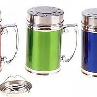 Термокружка нержавеющая круглая разных цветов V 280 мл (шт) Империя Посуды EMP_1377