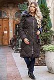Пальто женское 131R8909 цвет Черный, фото 2