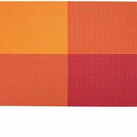 Коврик для сервировки стола красно - оранжевого цвета 450*300 мм (шт) Империя Посуды EMP_7043
