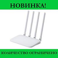 Роутер Хiaomi WiFi MiRouter 4C (White)- Новинка! Купить