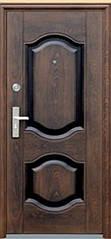 Дверь брон. 860*2050*70 (автоэмаль) бархатный лак стандарт правая