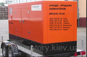 Оренда генератора 100 кВт прокат електростанції