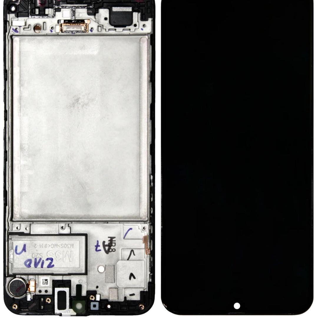 Дисплей Samsung M215 Galaxy M21 з сенсором Чорний оригінал GH82-22509A