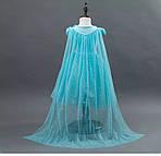 Дитяче плаття Холодне серце.Сукня Ельза.Дитяче плаття зі шлейфом. Карнавальна сукня.Сукню принцеси., фото 2