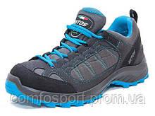 Лёгкие трекинговые кроссовки для туризма Lytos Running серо-синие