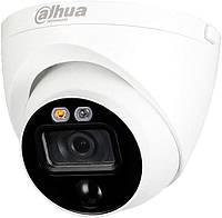 2 МП HDCVI видеокамера активного отпугивания Dahua DH-HAC-ME1200EP-LED 2.8mm