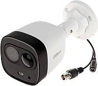5MP HDCVI камера активного отпугивания Dahua DH-HAC-ME1500DP 2.8mm, фото 1