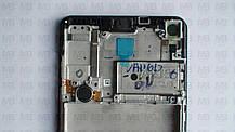Дисплей с сенсором Samsung А217 Galaxy А21s Black, GH82-22988A, оригинал с рамкой!, фото 2
