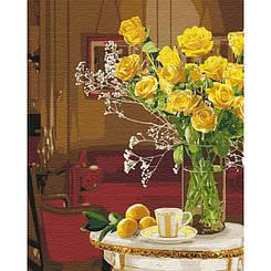 Картины по номерам - Яркий букет | Идейка™ 40х50 см. | КН3096