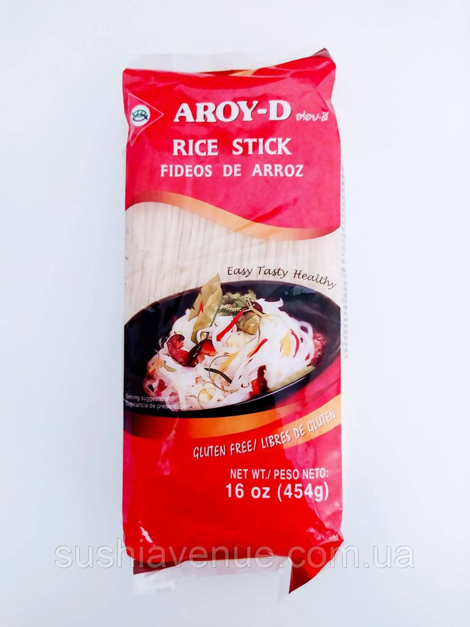 Рисовая лапша 0,1см Aroy-D 454г