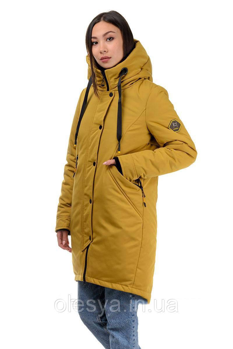 Женская зимняя куртка парка Крисс размеры 42- 52