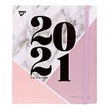 """Еженедельник / планинг / планер датированный на 2021 год, YES """"Monochrome"""" ( 151655 ), фото 5"""