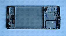 Дисплей з сенсором Samsung А315 Galaxy А31 Black, GH82-22761A, оригінал з рамкою!, фото 3