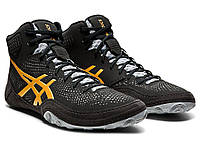 БОРЦОВКИ ASICS DAN GABLE EVO 2 BLACK/PURE GOLD 1081A018-004, фото 1