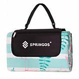 Коврик для пикника и кемпинга складной Springos 200 x 200 см PM016 - Love&Life, фото 4