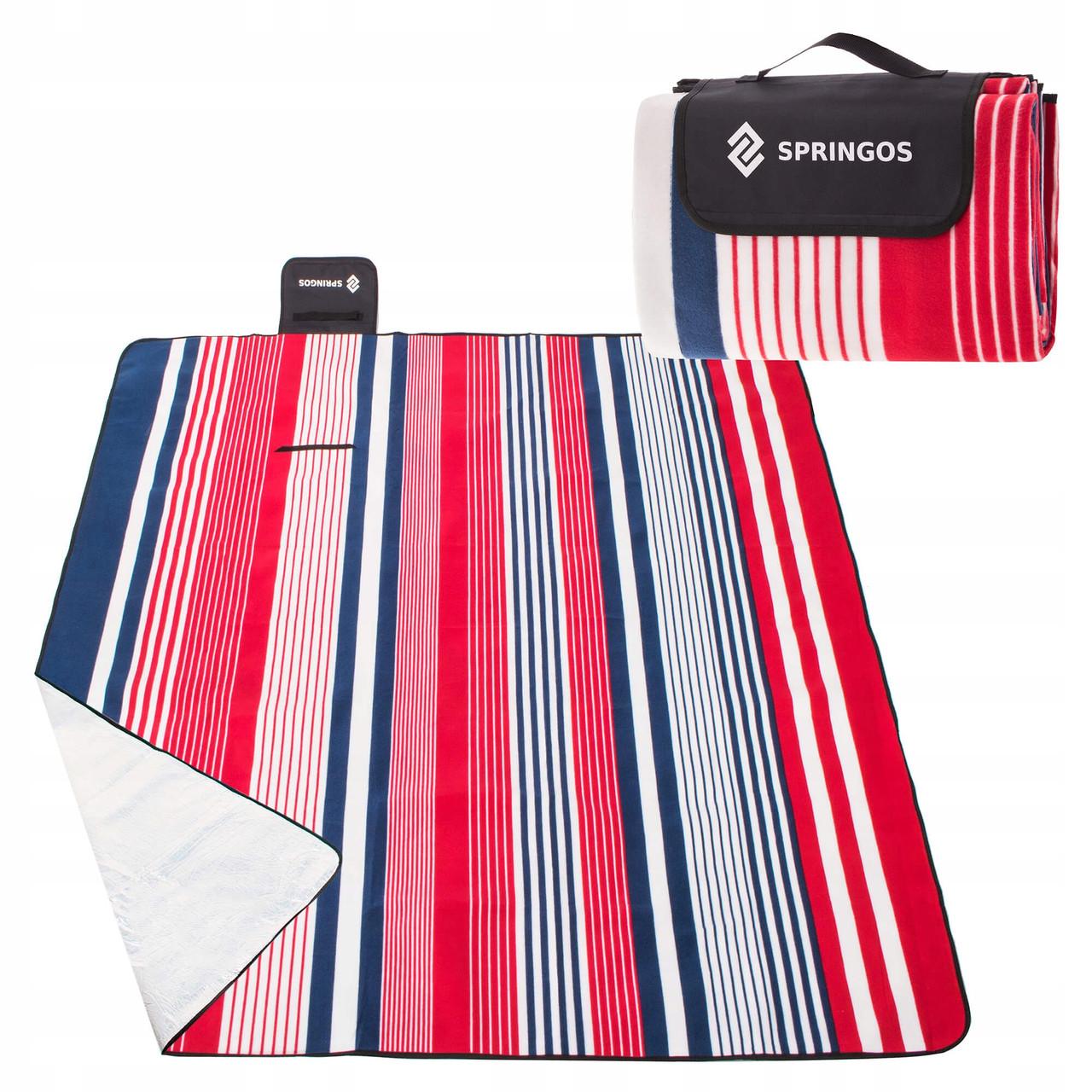 Коврик для пикника и кемпинга складной Springos 200 x 160 см PM006 - Love&Life