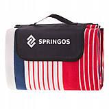 Коврик для пикника и кемпинга складной Springos 200 x 160 см PM006 - Love&Life, фото 5