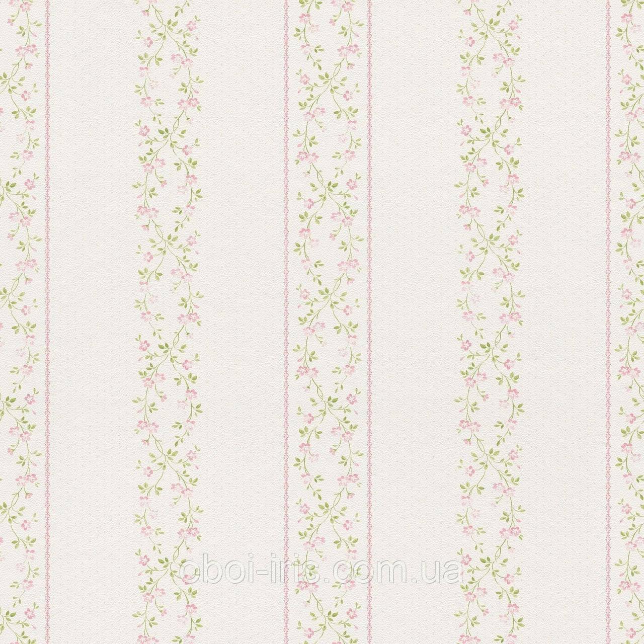 289090 обои Petite Fleur 4 Rasch Textil Германия виниловые на флизелиновой основе 0,53*10,05м