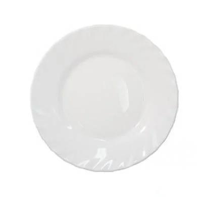 Біла тарілка пиріжкова Luminarc Trianon 155мм. (D7501)