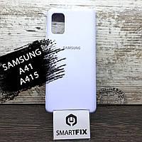 Силіконовий чохол для Samsung A41/A415 Full Soft Бузковий