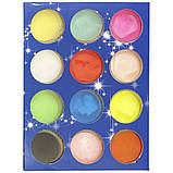 Набор разноцветной акриловой пудры - 12 баночек, фото 2