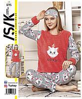 Пижама длинный рукав теплая