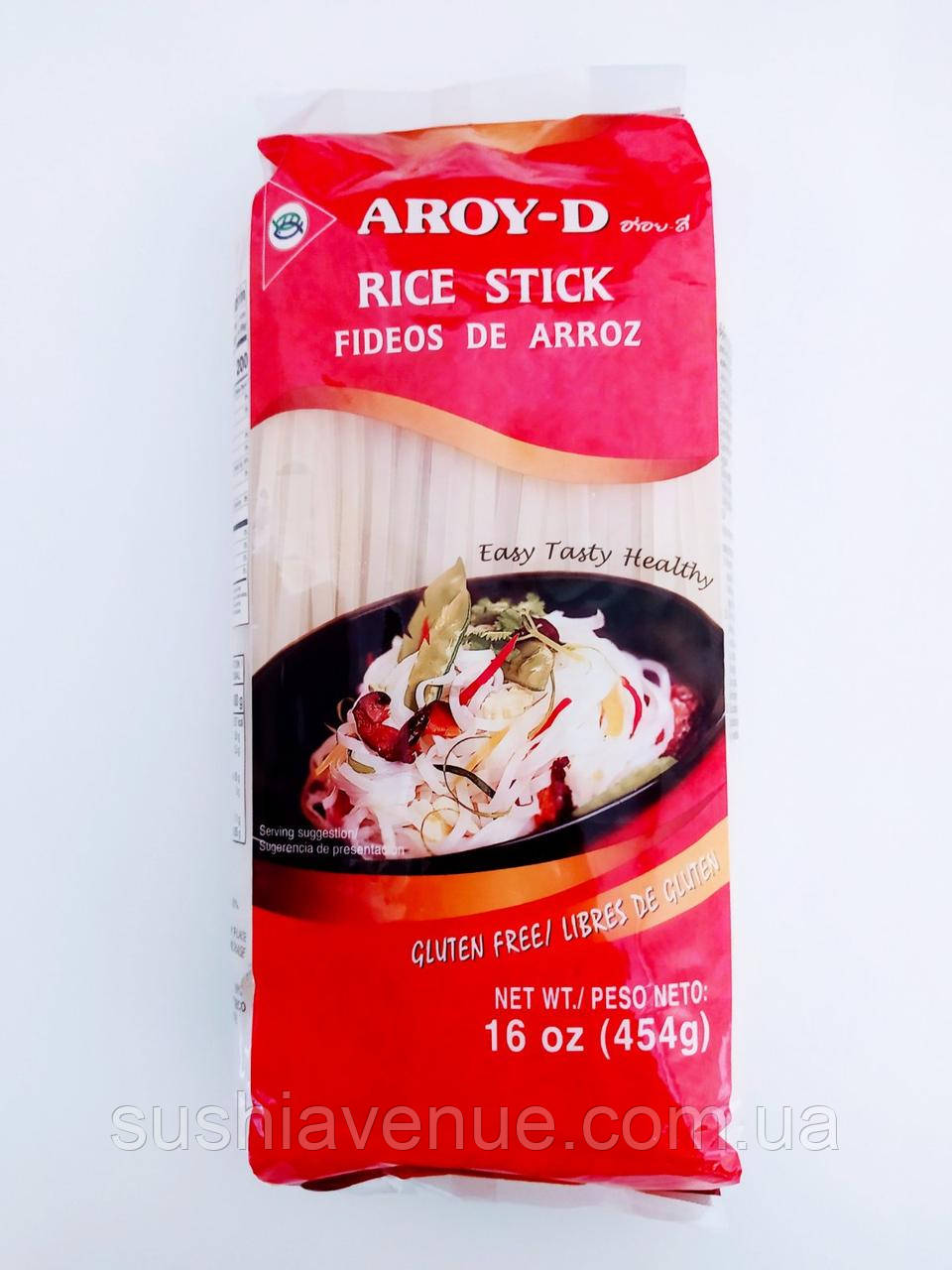 Рисовая лапша 0,5см Aroy-D 454г