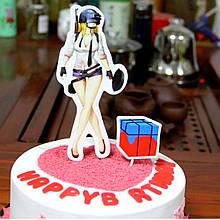 Топпер в торт фортнайт