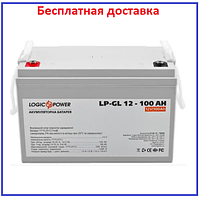 Аккумулятор гелевый LPM-GL 12V - 100 Ah, фото 1