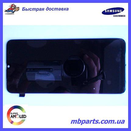 Дисплей с сенсором Samsung M305 Galaxy M30 чёрный,  GH82-19347A, оригинал, без рамки!, фото 2