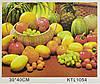 Картина за номерами KTL 1054 Фрукти і овочі, 40 х 30 см, в коробці