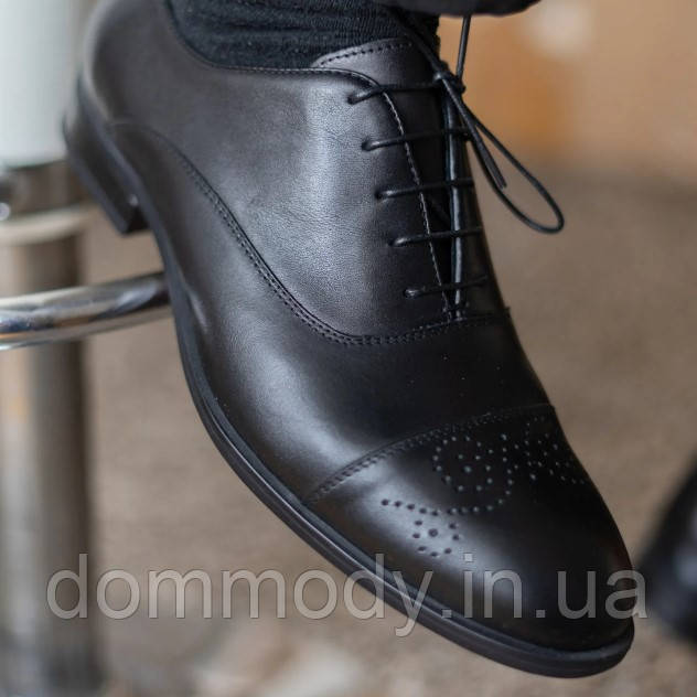 Туфли мужские черного цвета Gir
