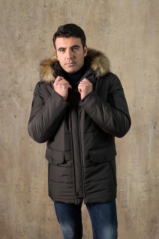 Куртка чоловіча DVMens WINTER-34 ХАКІ 100% поліестер 52(Р)