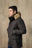 Куртка чоловіча DVMens WINTER-34 ХАКІ 100% поліестер 52(Р), фото 2