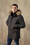 Куртка чоловіча DVMens WINTER-34 ХАКІ 100% поліестер 52(Р), фото 3